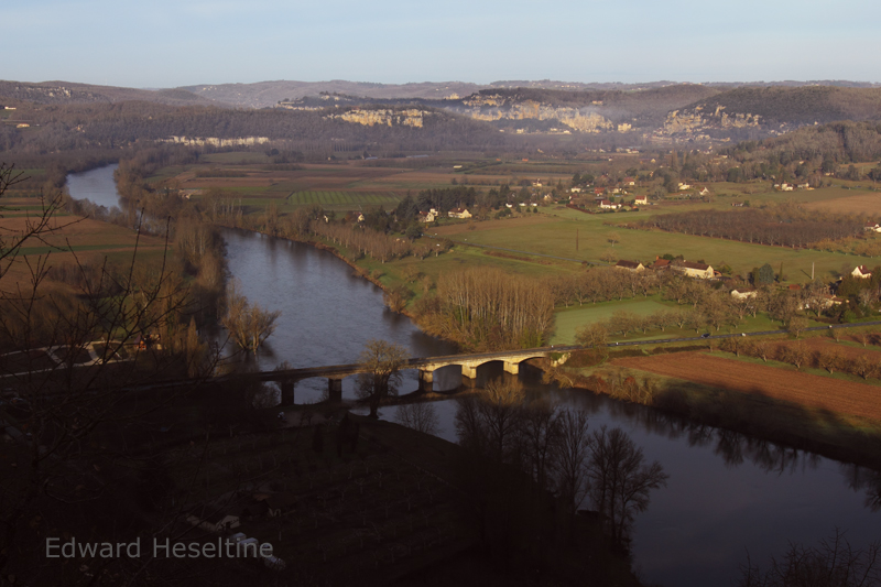 View of the Dordogne valley from Domme.